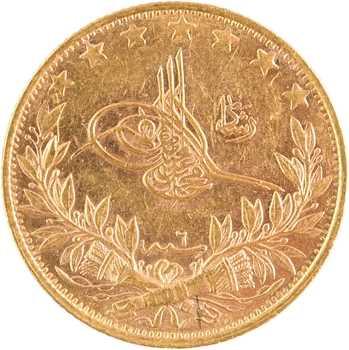 Turquie, Mohammed V, 100 kurush, AH 1327/6 (1914) Constantinople