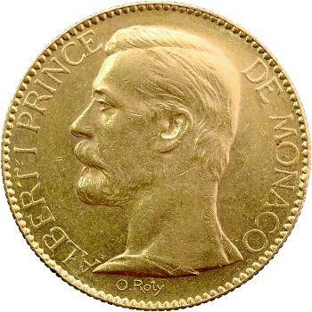 Monaco, Albert Ier, cent francs or, 1891 Paris