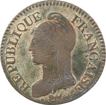 Directoire, cinq centimes Dupré, An 5 Paris