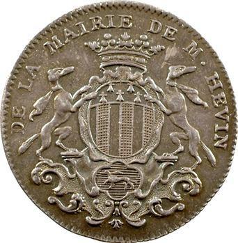 Bretagne, Rennes (mairie de), Jean-Jacques Hévin, maire, 1758