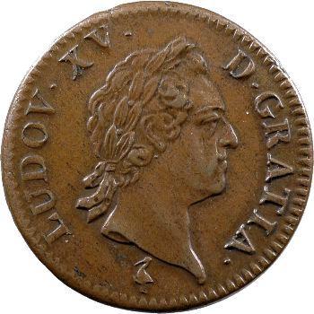 Louis XV, sol à la vieille tête, 1770 Paris