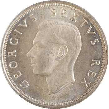 Afrique du Sud, Georges VI, 5 shillings du tricentenaire, 1652-1952