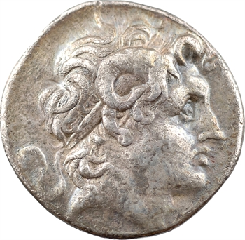 Thrace (Royaume de), Lysimaque, tétradrachme, Lampsaque, 297-281 av. J.-C.