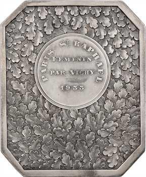 Automobile : Automobile Club de Vichy, par Fraisse-Demey, 1933 Nice