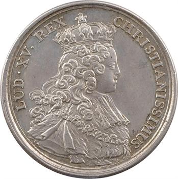 Louis XV, sacre à Reims le 25 octobre 1722, 1722 Paris