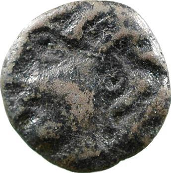 Ambiens, bronze à la tête humaine de face, c.60-40 av. J.-C.