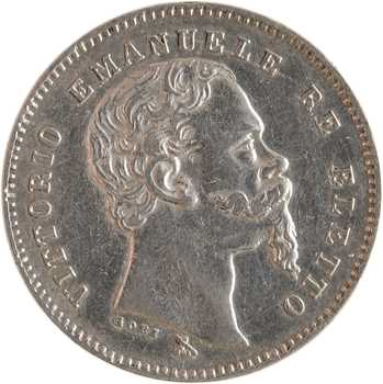 Italie (royaume d'), Victor-Emmanuel II, 1 lire, 1860 Florence