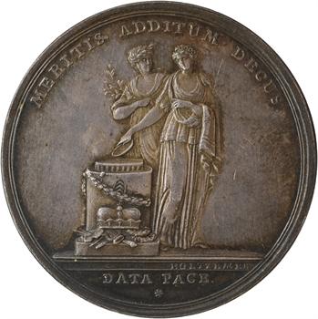 Allemagne, Hessen-Kassel, Guillaume Ier, Hanau, obtention de la dignité électorale, par Holtzemer, 1803