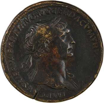 Trajan, sesterce, Rome, 107