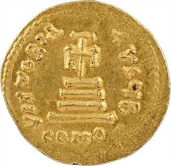 Héraclius et Héraclius Constantin, solidus, Constantinople, 2e officine, 610-641