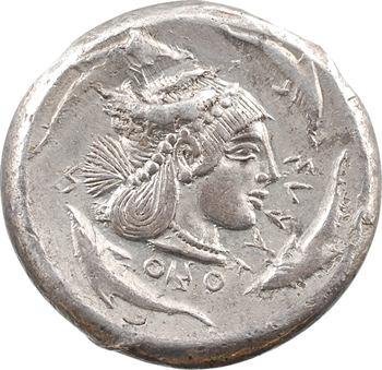 Sicile, Syracuse, tétradrachme, c.480 av. J.-C.