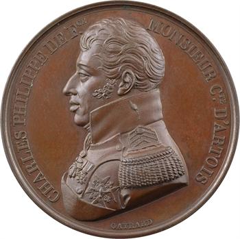 Entrée du Comte d'Artois à Paris, 1814 Paris