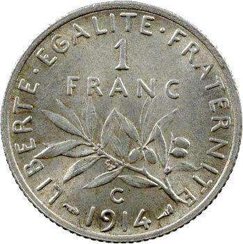 IIIe République, 1 franc Semeuse, 1914 Castelsarrasin