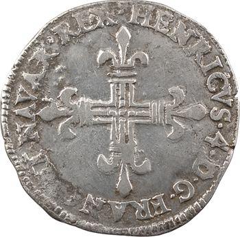Henri IV, quart d'écu de Navarre, 1601 Saint-Palais