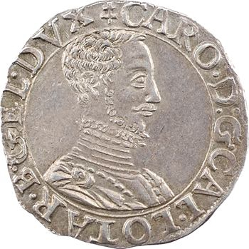 Lorraine (duché de), Charles III, quart de teston, s.d. (1564-1574) Nancy