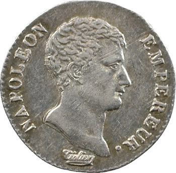Premier Empire, demi-franc calendrier révolutionnaire, An 13 Paris