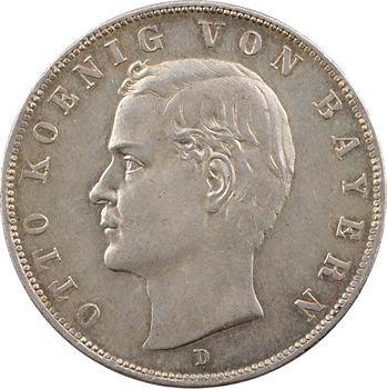 Allemagne, Bavière (royaume de), Othon, 3 mark, 1912 Munich