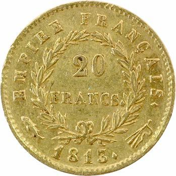 Premier Empire, 20 francs Empire, 1813 Utrecht