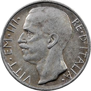 Italie (royaume d'), Victor-Emmanuel III, 10 lire, 1927 Rome