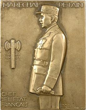 IIe Guerre Mondiale, le Maréchal Pétain, par Marcel Renard, 1941 Paris