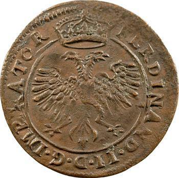 Besançon, jeton des services de comptes de la cité, 1630