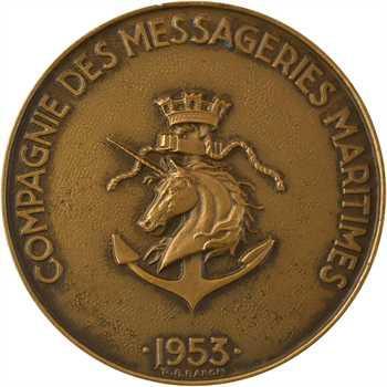 IVe République, les Messageries maritimes, Jean Laborde, 1953 Paris
