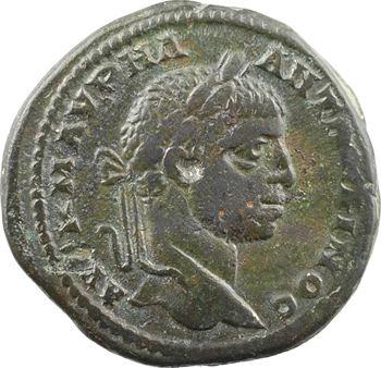 Moésie inférieure, Marcianopolis, Élagabale, moyen bronze AE25, 218-222
