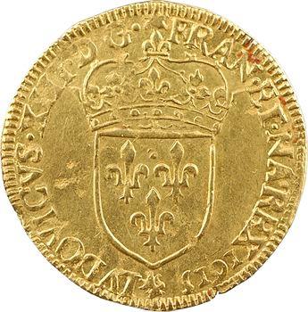 Louis XIII, écu d'or au soleil, 1615 Paris