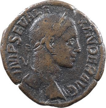 Sévère Alexandre, sesterce, Rome, 231