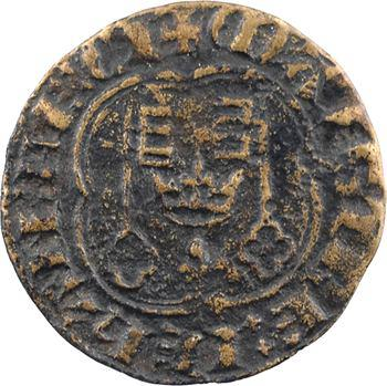 Chambre aux deniers, jeton de compte, Jean Le Coq, maître de la Chambre aux deniers, s.d. (après 1351)