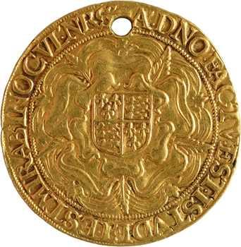 Angleterre, Elisabeth Ire, souverain (de 30 sous), s.d. (1592-1593) Londres