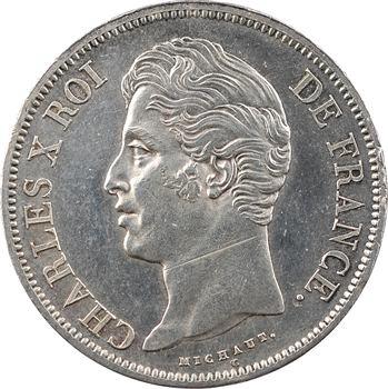 Charles X, 5 francs 2e type, 1829 Paris