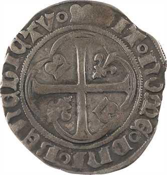 Charles VII, blanc au briquet, 3e type, Dijon