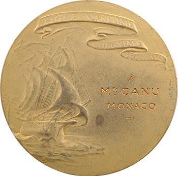Ligue maritime et coloniale française, à M. Canu de Monaco, s.d. Paris