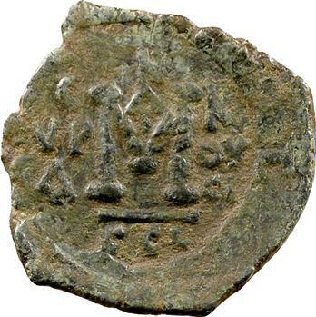Justinien II, follis, Syracuse, c.692-695