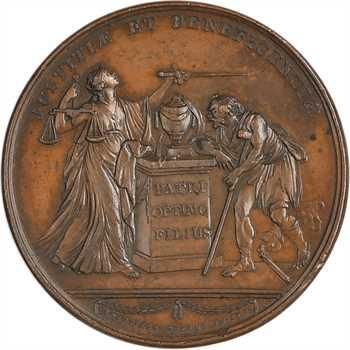 Russie, Catherine II, la mort du Prince Galitzin, par Roëttiers, 1767 Paris