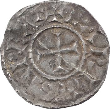 Au nom de Charles empereur (le chauve ou le Gros), denier, Arles