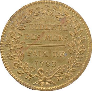 Louis XVI, Liberté des mers et indépendance de l'Amérique et des colonies, 1783 Paris