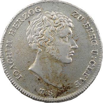 Allemagne, Berg et Clèves (duché de), Joachim Murat, thaler, 1806 Düsseldorf