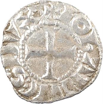 Bretagne (duché de), Jean Ier, obole, s.d