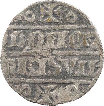 Ponthieu (comté de), Jeanne de Ponthieu et Jean II de Nesle, denier, s.d. Abbeville