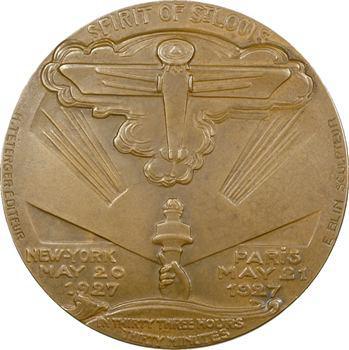 Blin (É.) : 1er vol New York-Paris par Lindbergh, 1927 Paris
