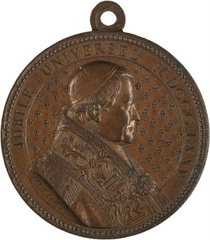 Vatican, Pie IX, Jubilé de 1875 et consécration du Sacré Cœur, 1875 Lyon