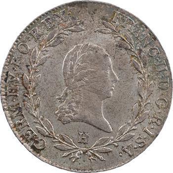 Autriche, François II, 20 kreuzer, 1803 Guntzbourg