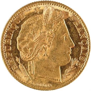IIe République, 10 francs Cérès, 1851 Paris