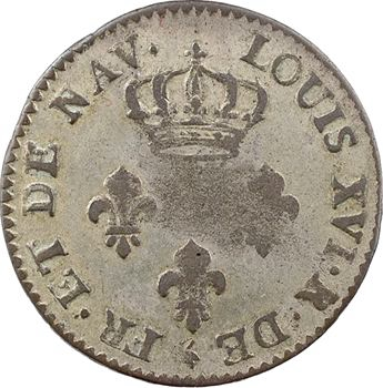 Réunion (Ile de la ou île de France et Bourbon), Louis XVI, 3 sols, 1779 Paris