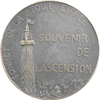 Charpentier (A. L. M.) : charpentiers  au montage de la Tour Eiffel, s.d. Paris