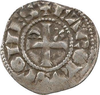 Anjou (comté d'), Charles Ier comte, obole, s.d. Angers