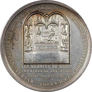 Louis-Philippe Ier, Bourbon-Lancy, fondation de la station thermale (Mme Camus de Pontcarré), par Baduel, 1843 Paris