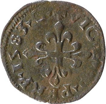 Italie, Desana (comté de), Dauphin Tizzone, liard au dauphin, 1583